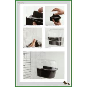 ファープラスト 小鳥用水浴び容器 TREVI 4405 バードバス(色おまかせ) 84405799|b03|pandafamily