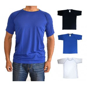 スポーツやトレーニング時に最適なサラサラとしたメンズ用シャツです。 通気性がよく、汗をかいてもすぐに...