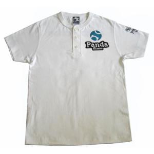 半袖ヘンリーTシャツ(綿)01-106 30%OFF|pandahouse