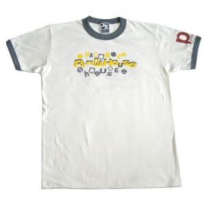 半袖リンガーTシャツ(綿100%)01-153 30%OFF|pandahouse