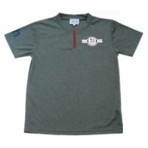 レディス半袖Tシャツジップ03-214  pandahouse