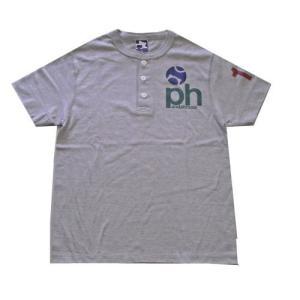73-106 半袖ヘンリーTシャツ(綿) |pandahouse