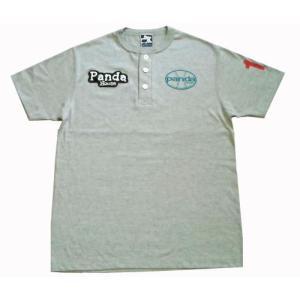 81-121 半袖ヘンリーTシャツ(綿) |pandahouse