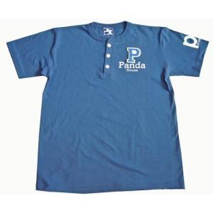 91-130 半袖ヘンリーTシャツ(綿)  |pandahouse