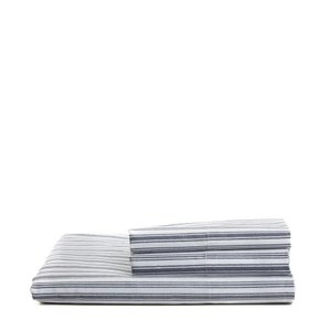 シーツ 枕カバー ノーティカ Nautica Coleridge グレー Twin XL Sheet Set|pandastore