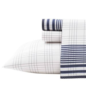 シーツ 枕カバー ノーティカ Nautica Ayer King Sheet Set|pandastore