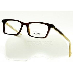 メガネ 眼鏡 めがね フレーム ファース ア ファース FACE A FACE KAREL 2 Eyeglasses Frame Havana Brown-Toffee col.222 51mm|pandastore