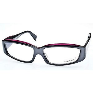 メガネ 眼鏡 めがね フレーム アランミクリ ALAIN MIKLI EYEGLASSES Frame Dark Pewter Grey-Plum Purple AL1340 3057 57mm|pandastore