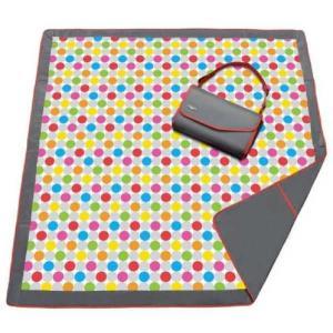 海外 レア ブランドおむつバッグ ベビー 赤ちゃん マザーバッグJJ Cole Essentials Blanket in Giggle Dots New ウイズ Carry バッグ|pandastore