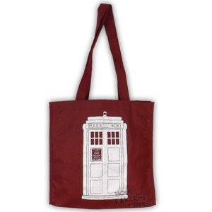 テレビ番組商品 海外セレクション Doctor Who Tardis BBC Tote Bag Shopping Bag Reusable Bag|pandastore