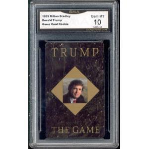 海外セレクション スポーツトレーディングカード1989 Donald Trump Milton Bradley Game Rookie Card gem ミント 10|pandastore