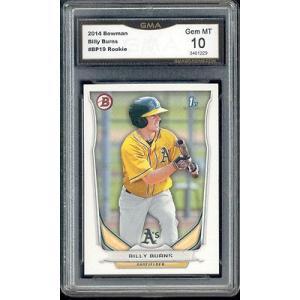 海外セレクション 野球 ベースボール メジャーリーグ カード2014 Billy Burns Bowman Rookie Gem ミント 10 #BP19|pandastore
