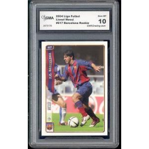 海外セレクション サッカー2004 ライオンel Messi Barcelona Mundicromo La Liga Spain Rookie Gem ミント 10|pandastore