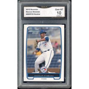 海外セレクション 野球 ベースボール メジャーリーグ カード2012 Marcus Stroman Bowman  Rookie Gem ミント 10 #BDPP35|pandastore