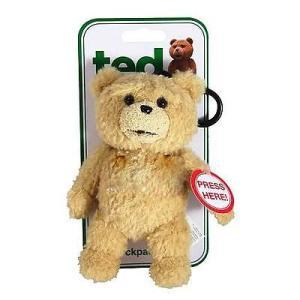 ガンド テッド Ted Movie 6' Back Pack Clip Plush With Sounds|pandastore