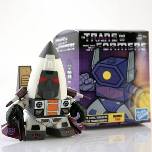 コミック ヒーロー アクション フィギュア  Transformers Ramjet The Loyal Subjects Series 2 Licensed Decepticon 3