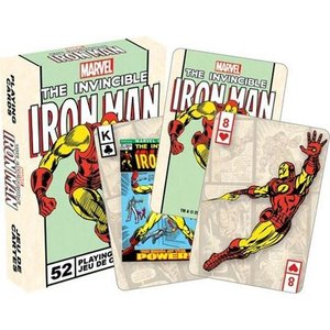 トランプ マーベルコミック Iron Man Invincible Marvel Comics Playing Cards Poker Deck|pandastore