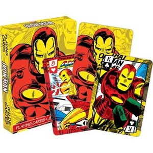 トランプ マーベルコミック Iron Man Marvel Comics Playing Cards Poker Deck|pandastore