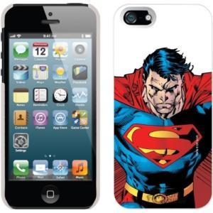 アップル アイフォン ケース カバー スキン スマホ 携帯 superman Close Up ホワイト DC Comics ライセンス iPhone 5 Snap On Cover ケース|pandastore