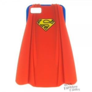 アップル アイフォン ケース カバー スキン スマホ 携帯 supermane I'm superman DC Comic IPhone 5 ブルー Snap-On ラバー ケース ライセンス|pandastore