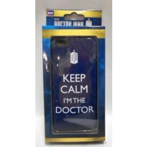アップル アイフォン ケース カバー スキン スマホ 携帯 Doctor Who Keep Calm I'm The Doctor ライセンス BBC Iphone 5/5S ケース|pandastore