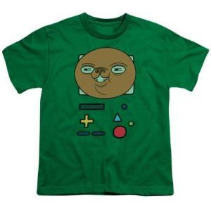 トップス シャツTシャツ アドベンチャータイム Adventure Time BMO Mask Youth T Shirt|pandastore