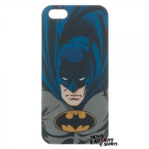 ケース カバー スキン 海外バイヤーセレクト Batman DC Comics Iphone 5 Black Thinshield Snap-On Case|pandastore