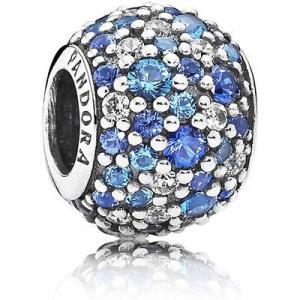 ビーズ パンドラ Authentic Pandora Charm Sterling Silver Sky Mosaic Pave Charm 791261NSBMX|pandastore