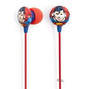 ヘッドフォン DCコミックス Superman Symbol Icon Ihip Noise Reduction Earphones Earbuds|pandastore