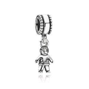 ビーズ 海外セレクション AUTHENTIC PANDORA Dangle Sterling Silver 790859 Little Boy Charm|pandastore