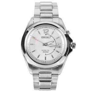 腕時計 セイコー Seiko Kinetic シルバー ダイヤル メンズ 腕時計 SKA475J1 SKA475|pandastore