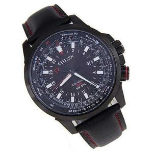腕時計 シチズン Citizen Promaster エコドライブ Pilot GMT 腕時計 BJ7076-00E BJ7076|pandastore