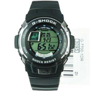 腕時計 カシオ Casio G-Shock 200M World Time メンズ 腕時計 G-7700 G-7700-1DR G-7700-1 G7700-1|pandastore