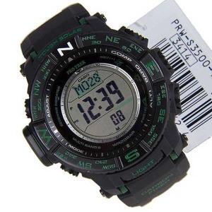 腕時計 カシオ Casio Protrek Triple Sensor 腕時計 PRW-S3500-1DR|pandastore