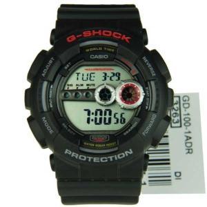 腕時計 カシオ Casio G-Shock World Time アラーム 腕時計 GD-100-1A GD100 GD-100-1ADR GD-100-1|pandastore