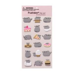 スクラップブッキングステッカー ガンド Pusheen The Cat Sticker Sheet Of 18 Stickers Funny Stickers|pandastore