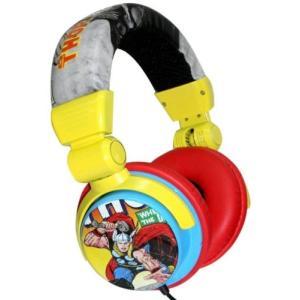 ヘッドフォン マーベルコミック Thor Design Headphones Dj Style Marvel Comics|pandastore