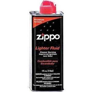 ライター ジッポー Zippo Lighter Fluid 4oz Can 3141 FREE SHIPPING|pandastore