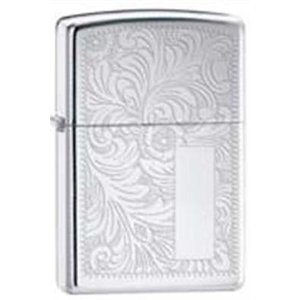 ライター ジッポー Zippo 352 venetian high polish chrome lighter|pandastore
