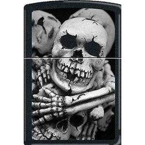 ライター ジッポー Til Death Do US Part Black Matte CM1305 Zippo Lighter|pandastore