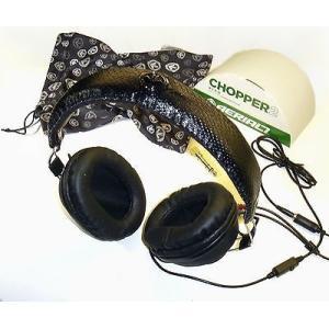 ヘッドセット イヤーピース エアリアルセブン Aerial7 Chopper 2 Skype Headphones with inline mic-Blaq (All Black)-44mm-New|pandastore