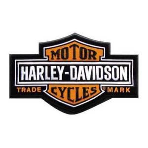 パッチ ハーレーダビッドソン Harley-Davidson Long Bar & Shield Patch SM 4 1/2'' x 2 15/16'' EMB312382|pandastore