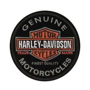 パッチ ハーレーダビッドソン Harley-Davidson Emblem, Long Bar & Shield, Small Size Patch EM312642|pandastore