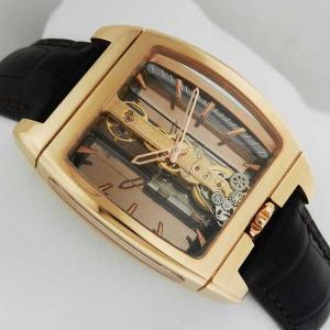 腕時計 コラム Corum ゴールデン Bridge オートマチック 腕時計 313.165.55/0002 GL10R NEW Retail: $52,700