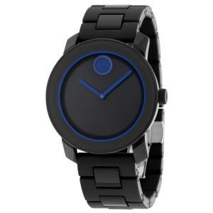 モバード Bold ネイビー ブルー ダイヤル ネイビー ブルー Polyurethane ユニセックス クォーツ 腕時計 3600314