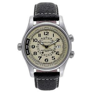 腕時計 ハミルトン Hamilton カーキ ネイビー UTC Auto メンズ オートマチック 腕...