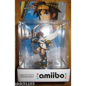 海外版ゲーム ニンテンドー Nintendo Amiibo PIT Figure for Wii U KID ICARUS US VERSION UNICORN FIRST PRINT pandastore
