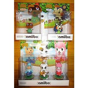 海外版ゲーム 海外セレクション Nintendo Amiibo ANIMAL CROSSING Figure LOT 5 TOM NOOK MABEL CYRUS KK REESE US pandastore