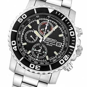 腕時計 セイコー ブランド New SNA225P1 SNA225 Seiko クロノグラフ 7T62 100M スポーツ メンズ 腕時計|pandastore