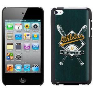 ケース スマホ 携帯 カバー カヴァルー Oakland アスレチックス Bats 4th Generation iPod Touch Snap-On ケース pandastore
